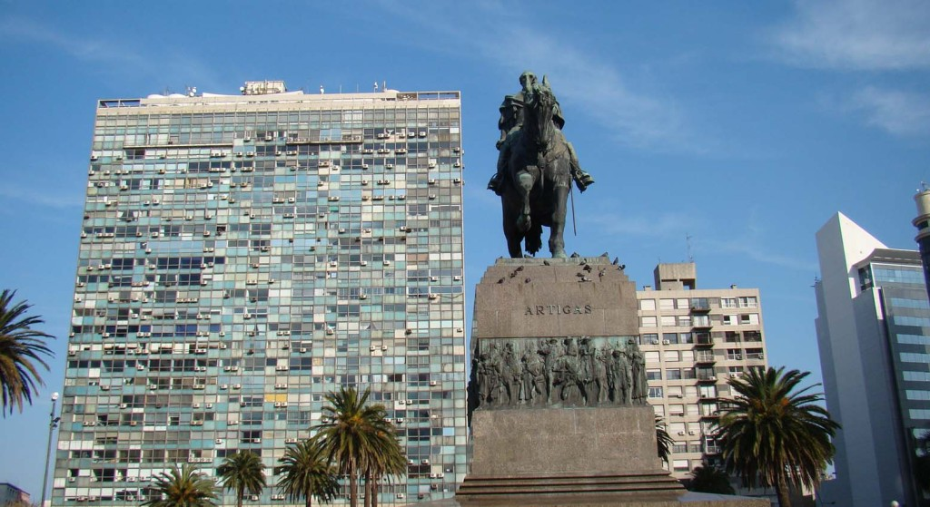 Praça da Independencia - Montevideu - Uruguai