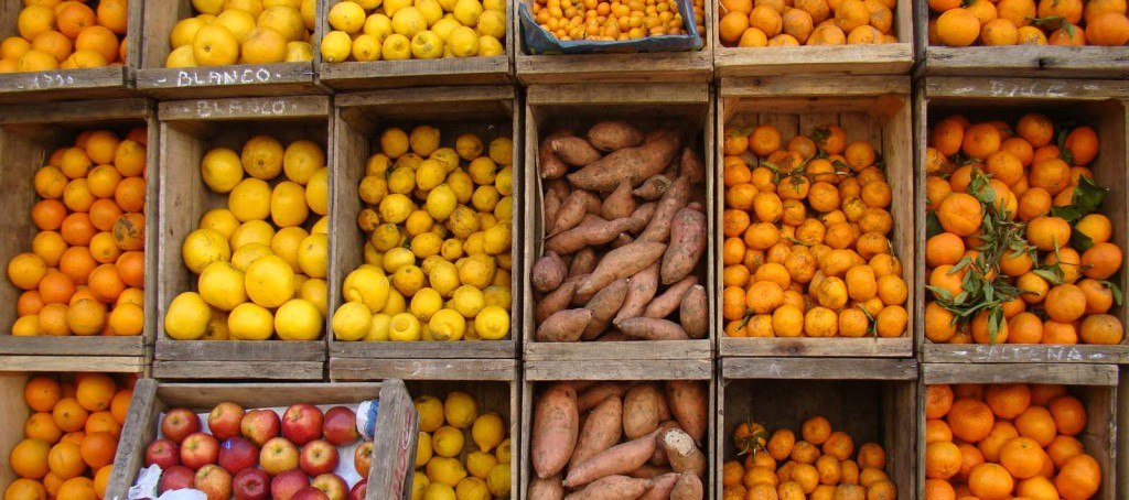 Frutaria em Montevidéu