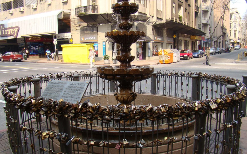 Fonte dos Cadeados - Montevidéu