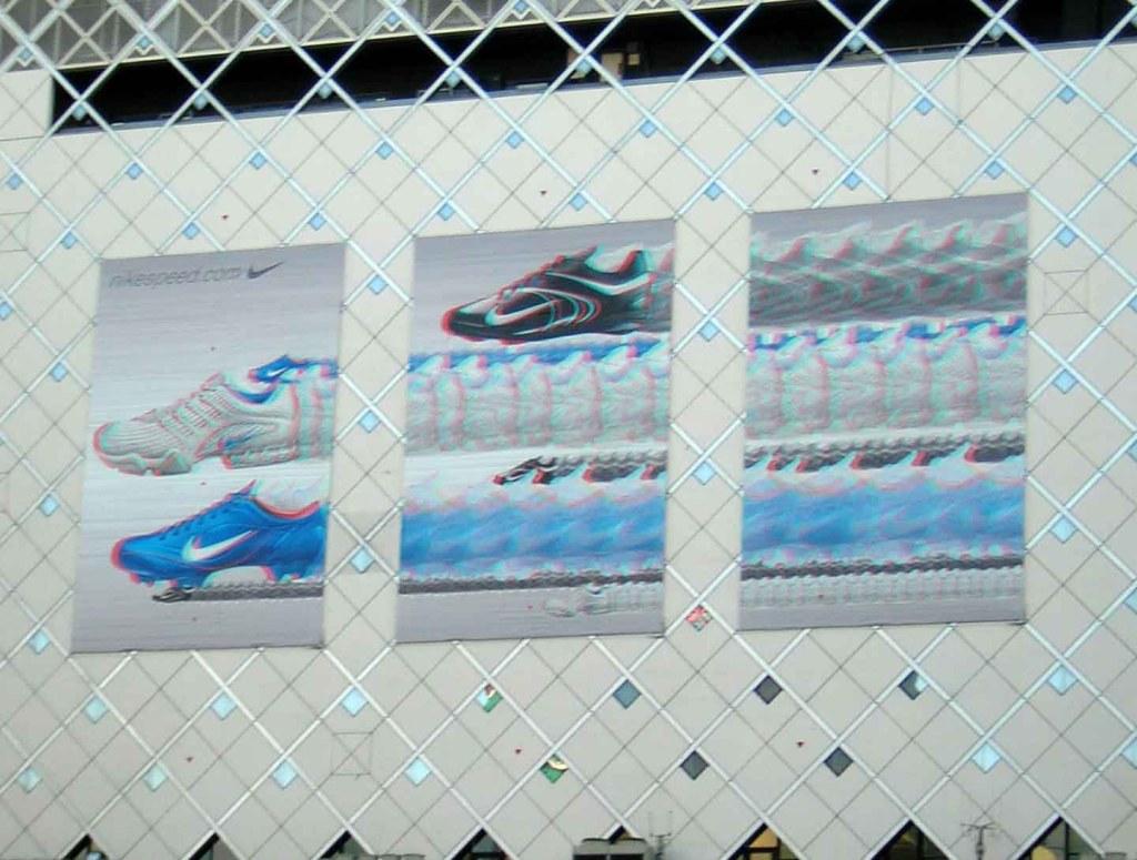 Propaganda 3D em Shibuya