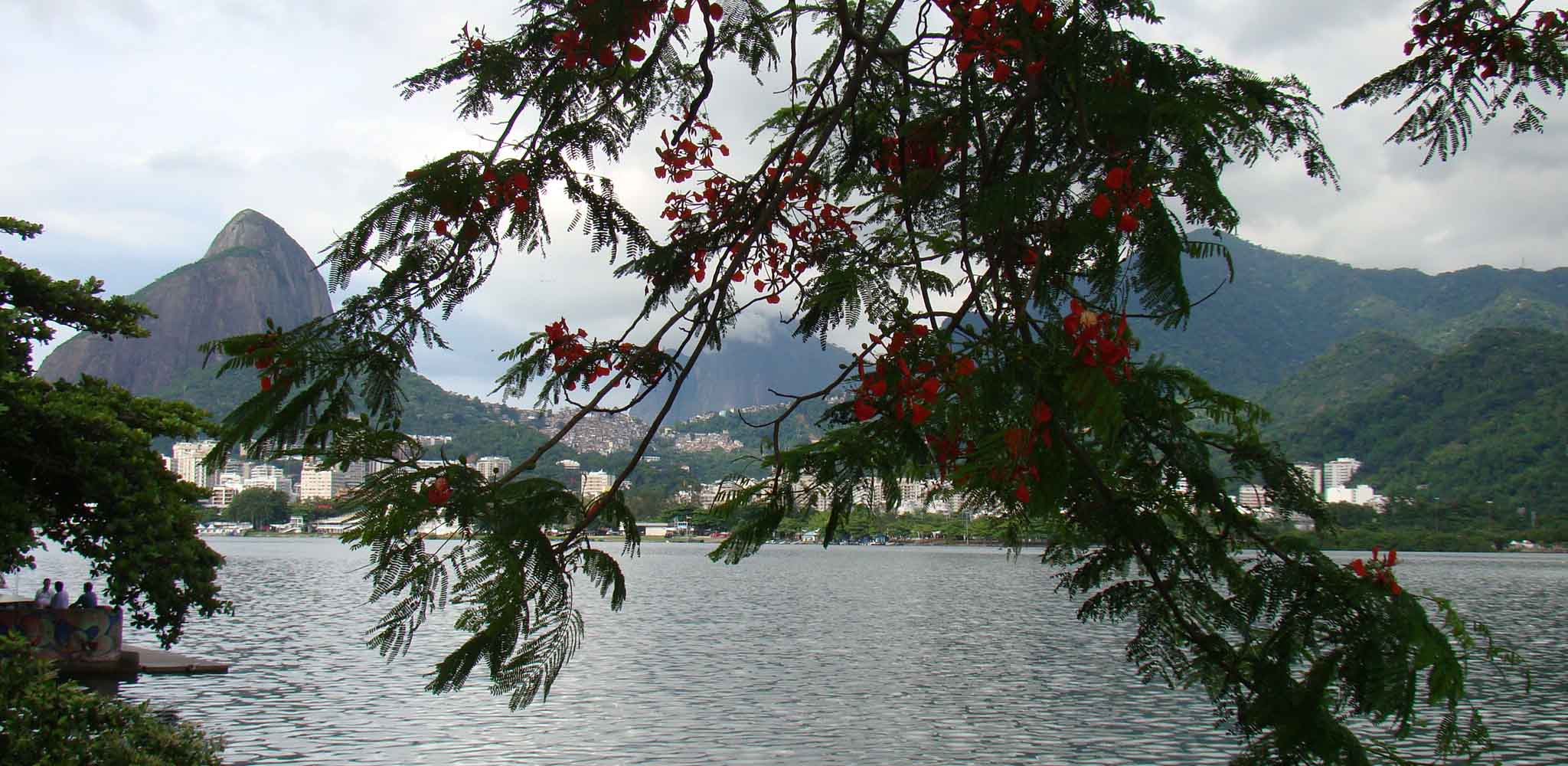 Lagoa Rodrigo de Feitas no Rio de Janeiro