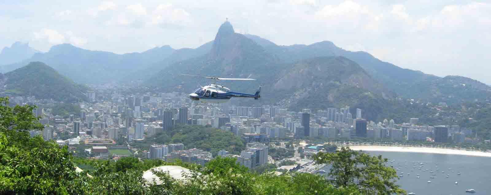 Passeio de Helicóptero no Rio
