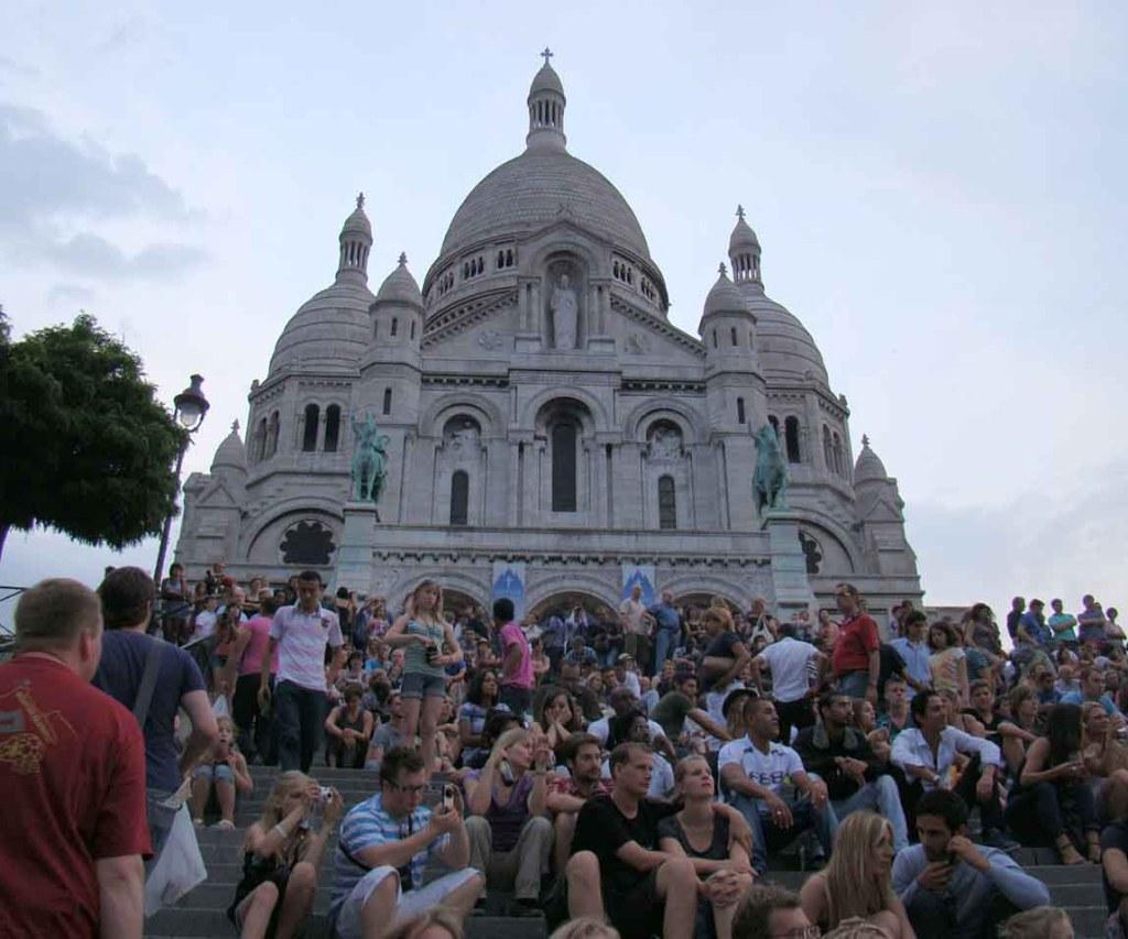 Basilica de Sacre Coeur - Paris