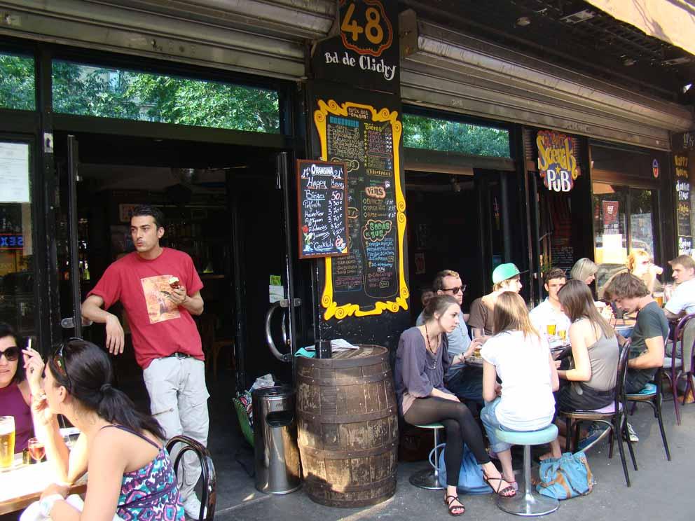 Bar em Montmatre