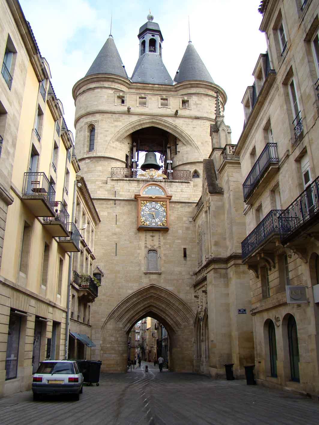 O grande relógio Bordeaux