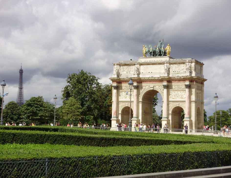 Paris os jardins do louvre ideias na mala for Jardins hotel paris