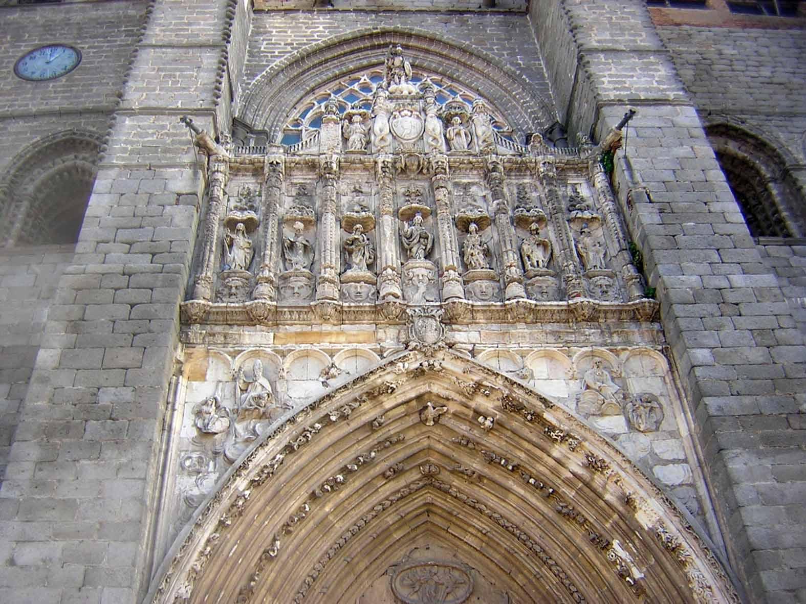 Fachada da Catedral de Ávila