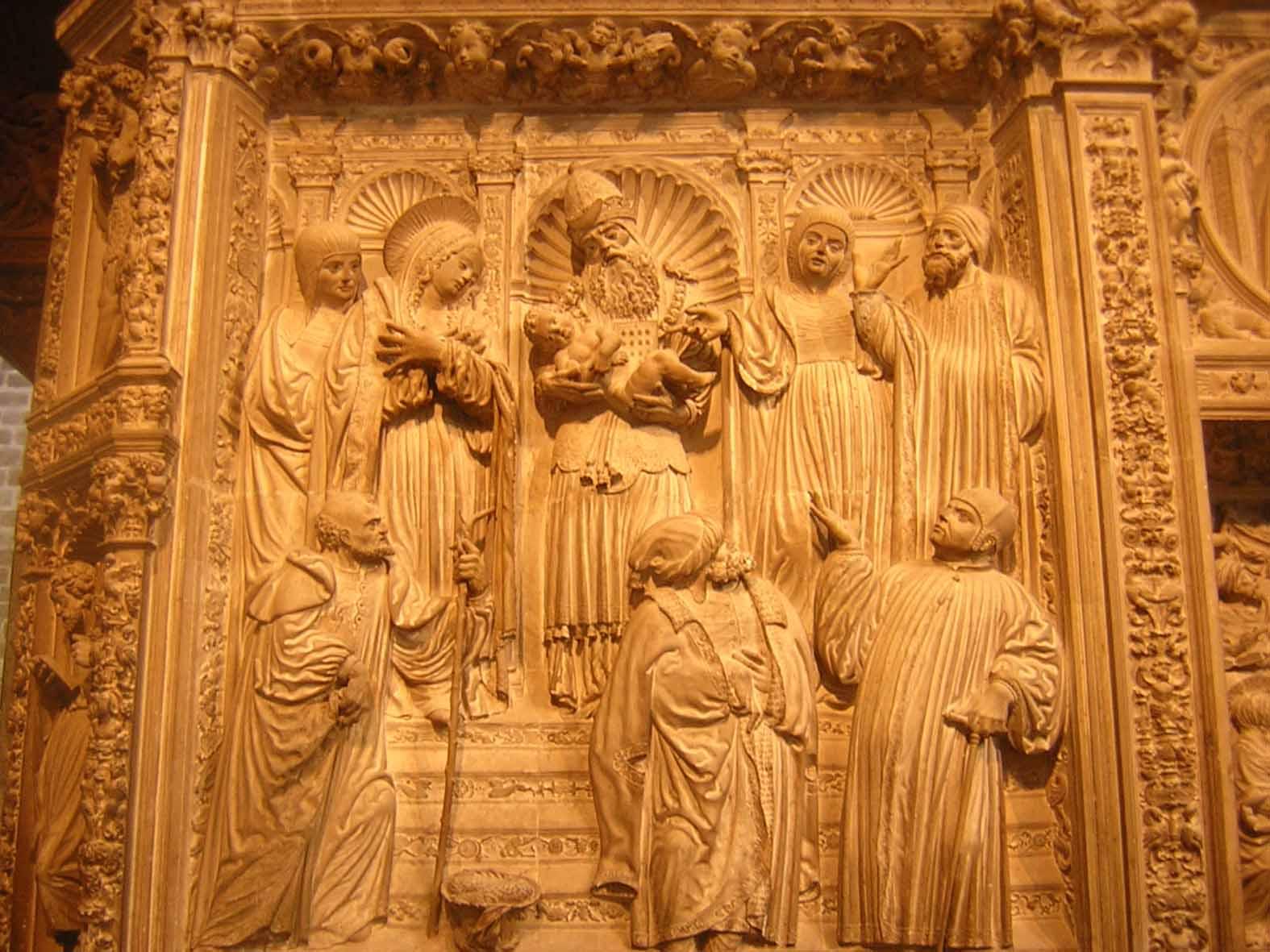 Interior da  Catedral de Ávila