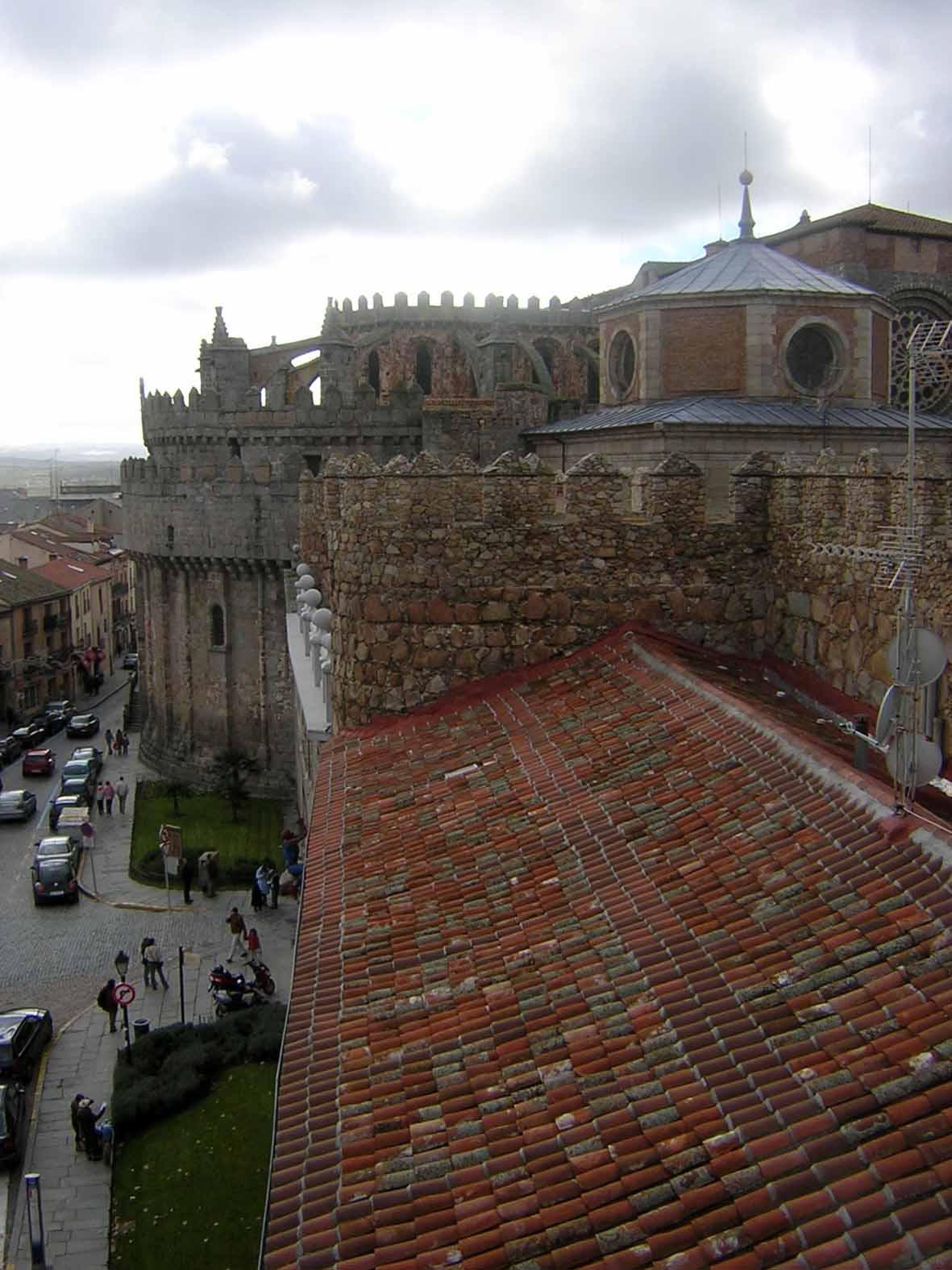 Muralha e catedral de Ávila