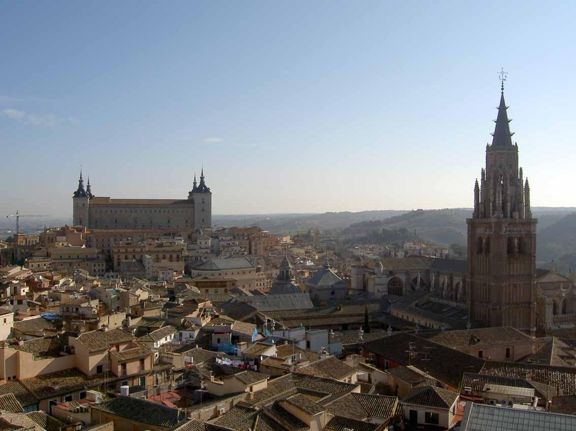 Vista do alto da igreja dos Jesuitas - Toledo