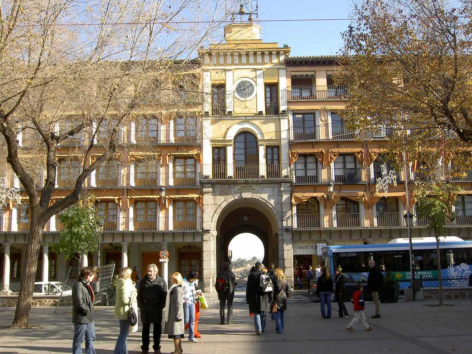 Puerta Zocodover -Toledo