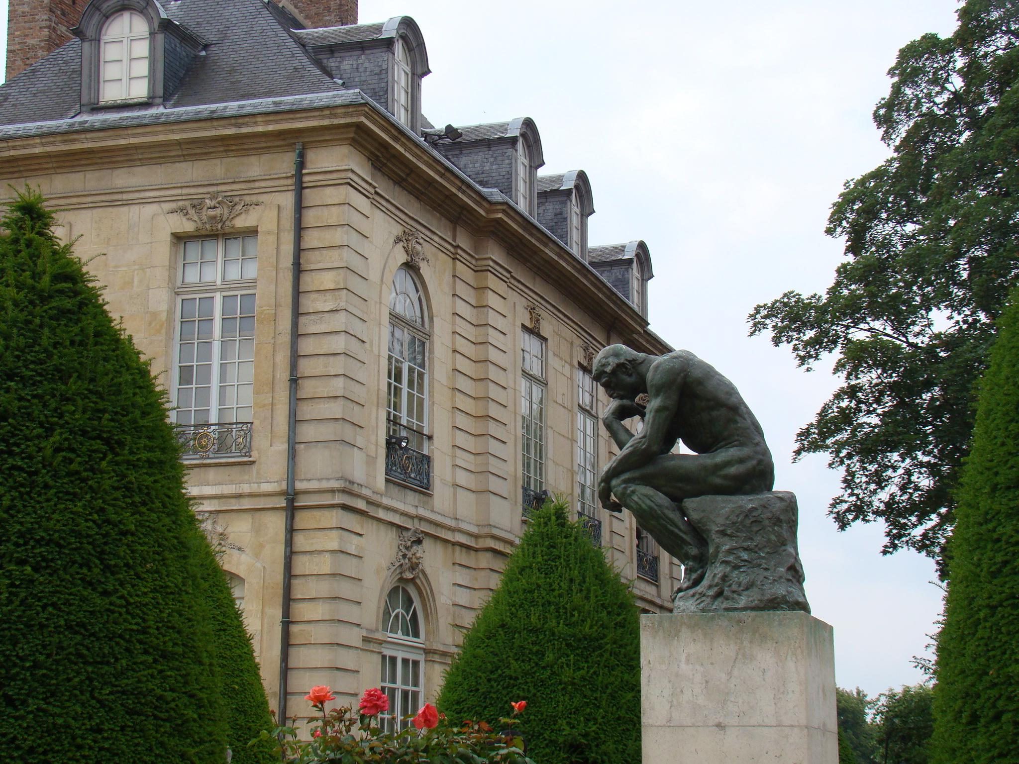 O pensador - Museu Rodin