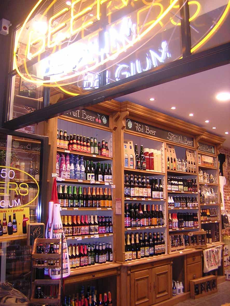 Loja de cervejas - Bruxelas