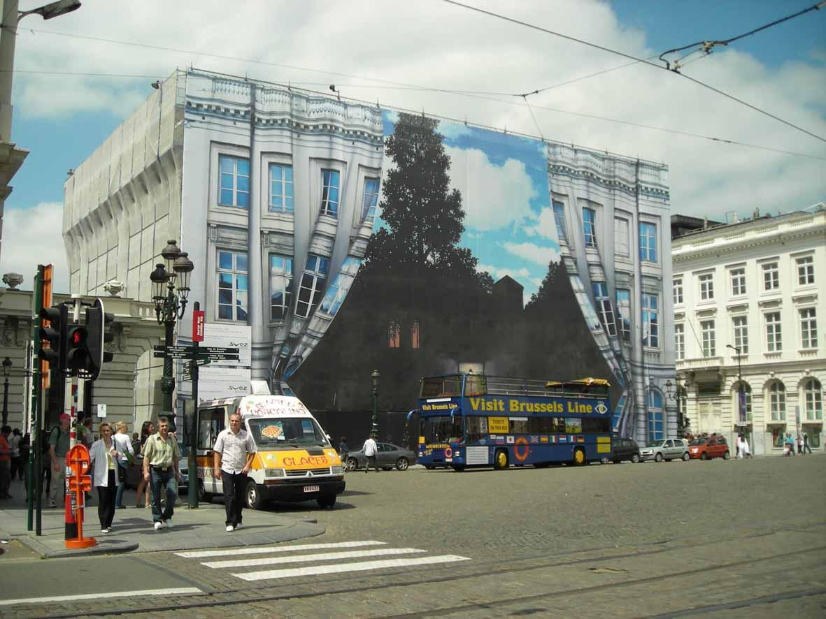 Fundo do Museu Magritte em Bruxelas