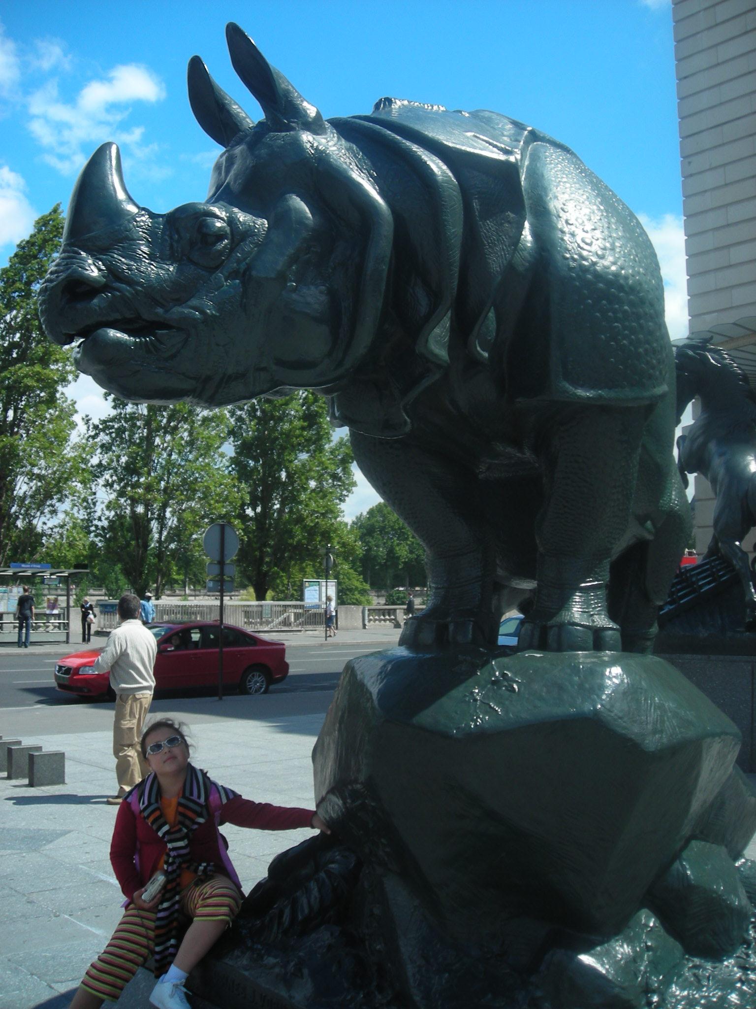 Rinoceronte museu D'orsay - Paris