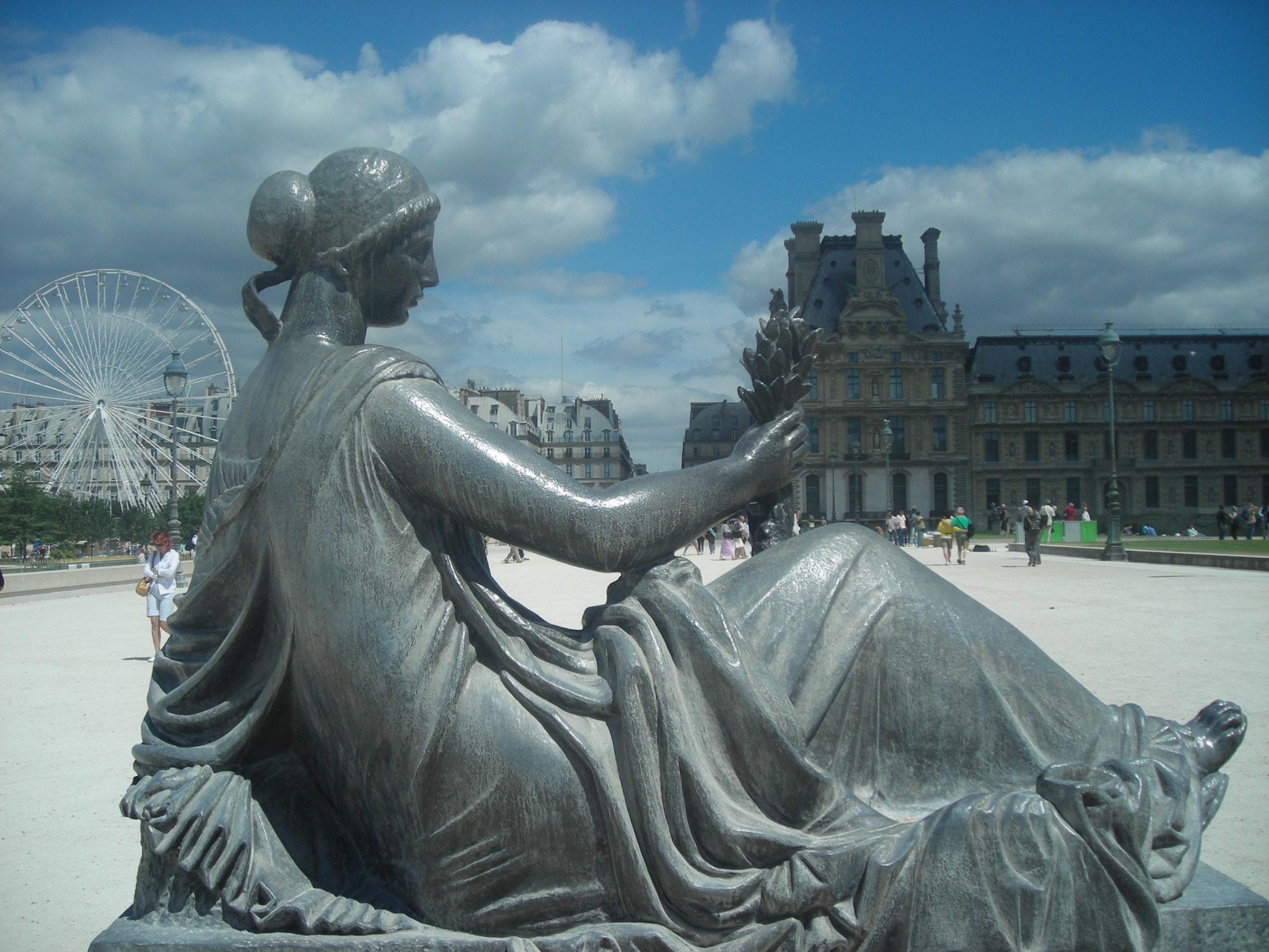 Jardins do Museu do Louvre