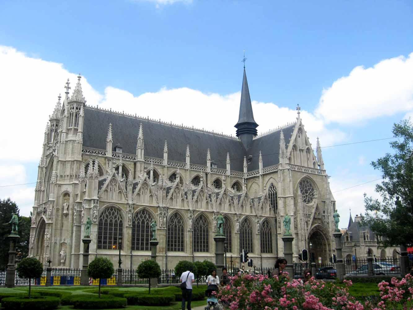 Notre Dame Du Sablon - Bruxelas