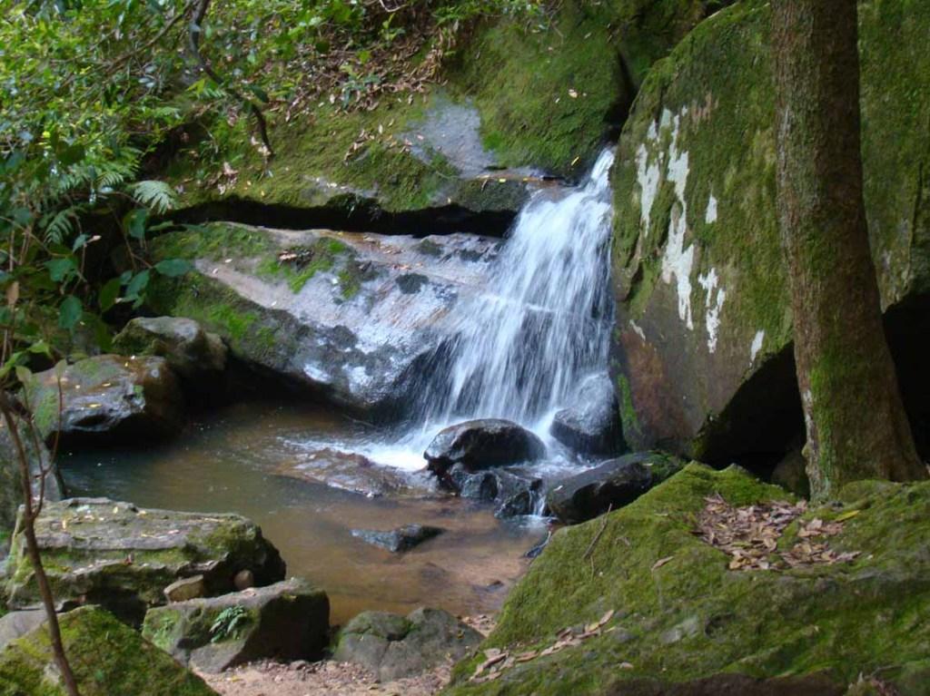 Pequena cachoeira em Katoomba