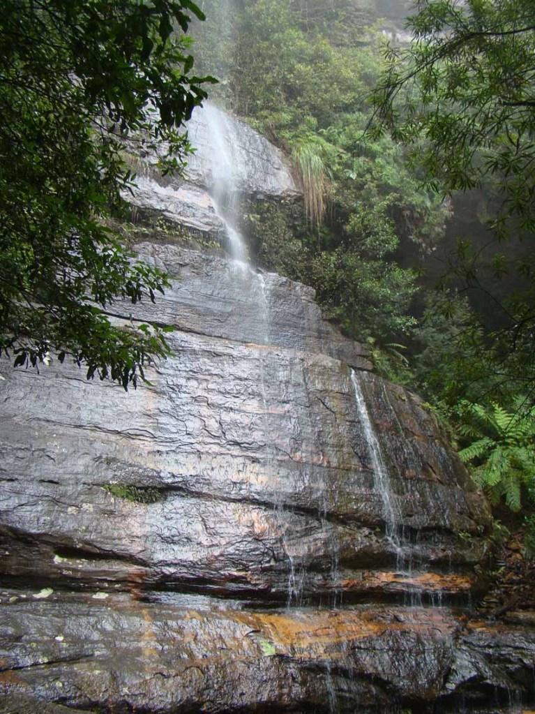Cachoeira em Blue Mountains