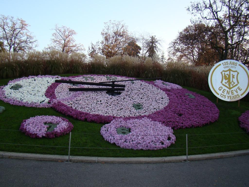 Horloge Fleurie - Genebra