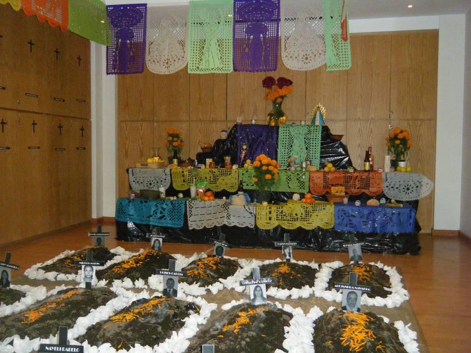 Altar do dia de los Muertos - México