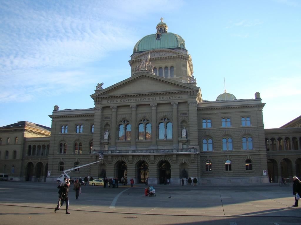 Parlamento Suíço - Berna