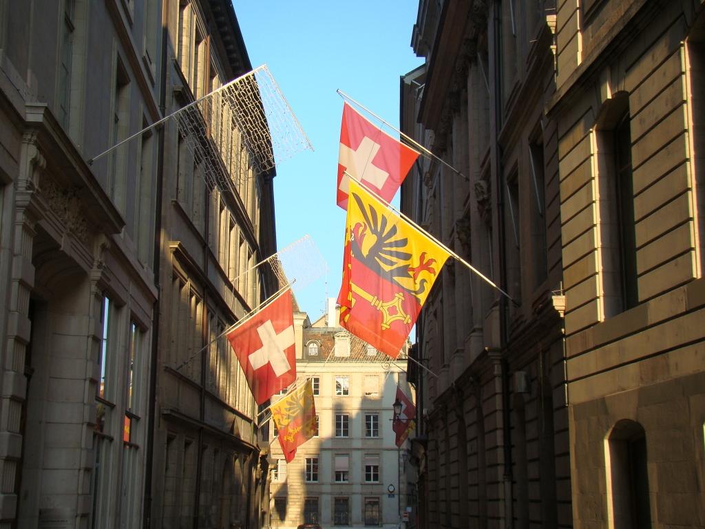 centro Antigo de Genebra