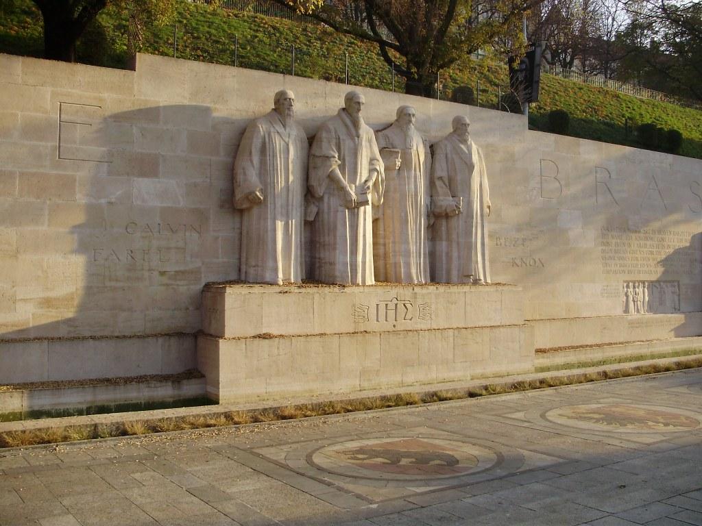 Muro da reforma - Genebra