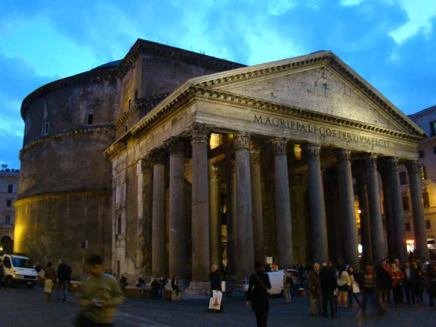 Panteão de Roma visto de fora