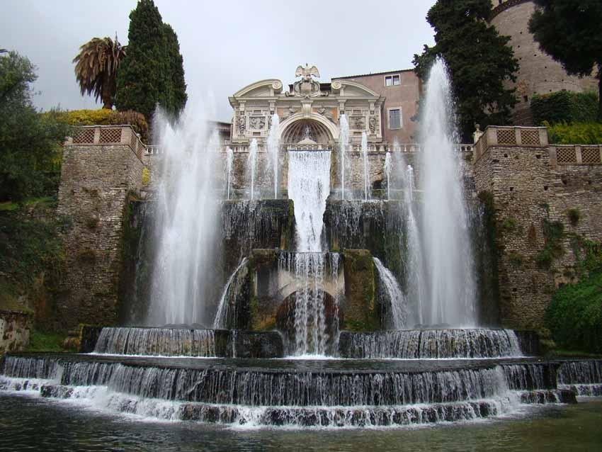 Fonte de Netuno em Tivoli
