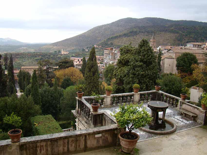 Jardins da Villa d'Este em Tivoli