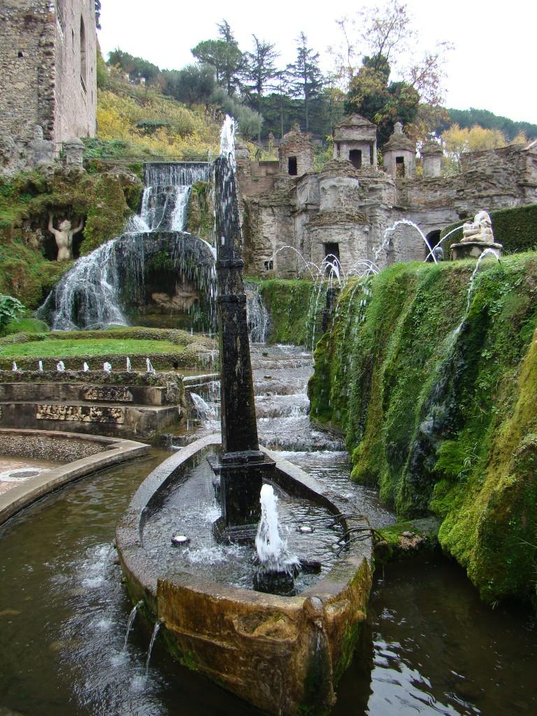 Fonte de Rometta na Villa D'este