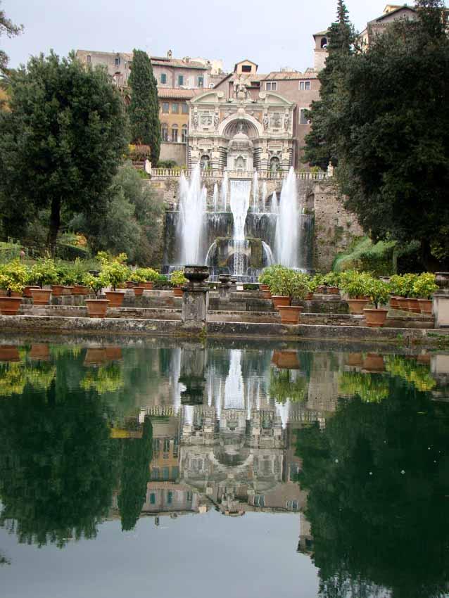 Fonte de Neptuno em Tivoli