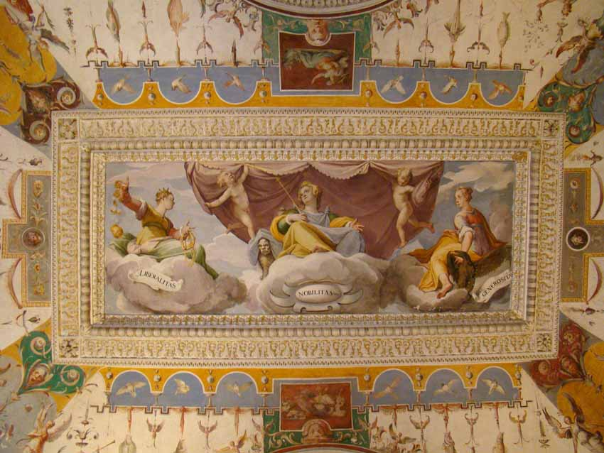 Parte interna do Palácio - Villa d'Este