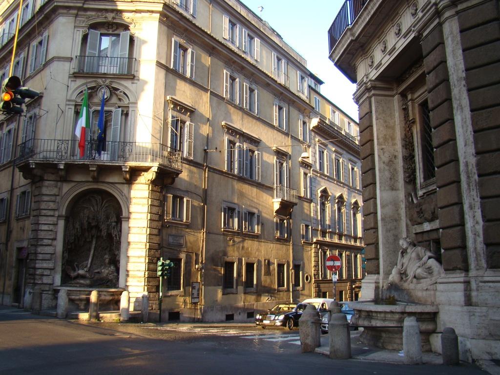 Roma: Cruzamento das 4 fontes