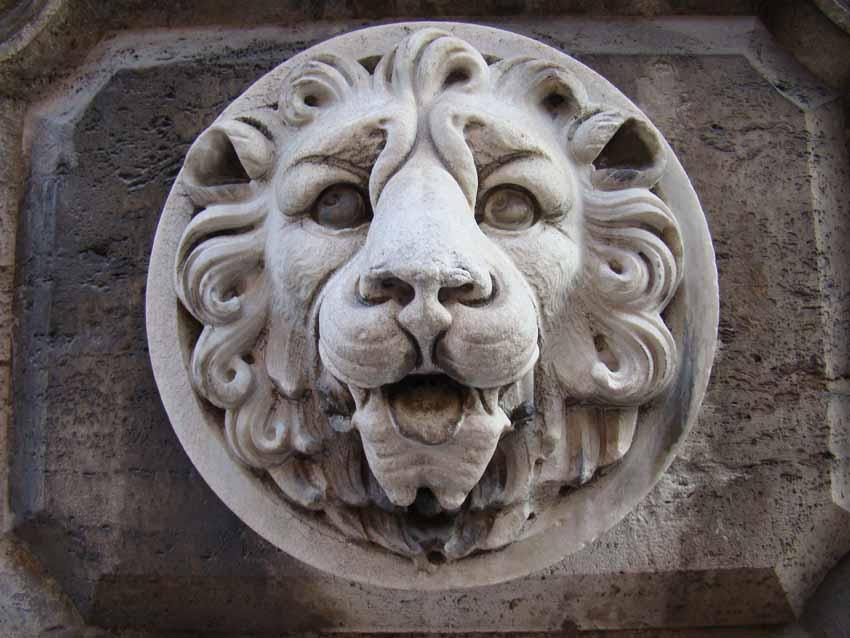 Detalhe em Roma