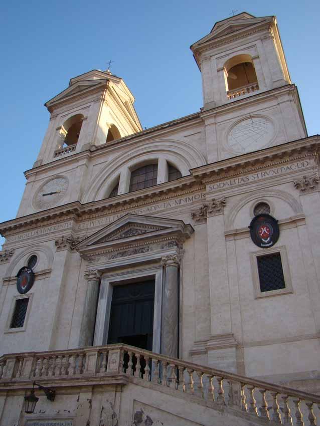 Igreja Trinità dei Monti,