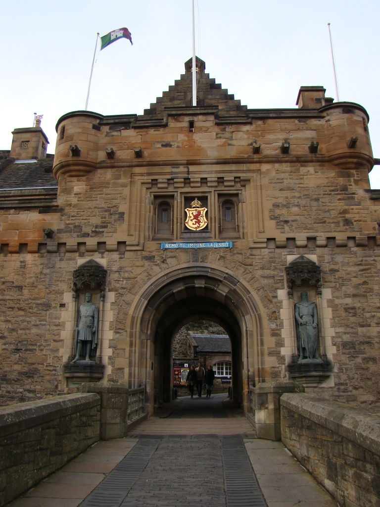 Royal Mile: castelo de Edimburgo
