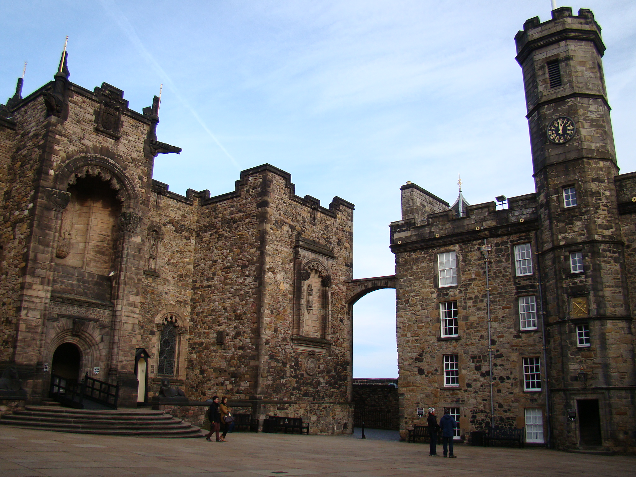 Royal Mile- Castelo de Edimburgo
