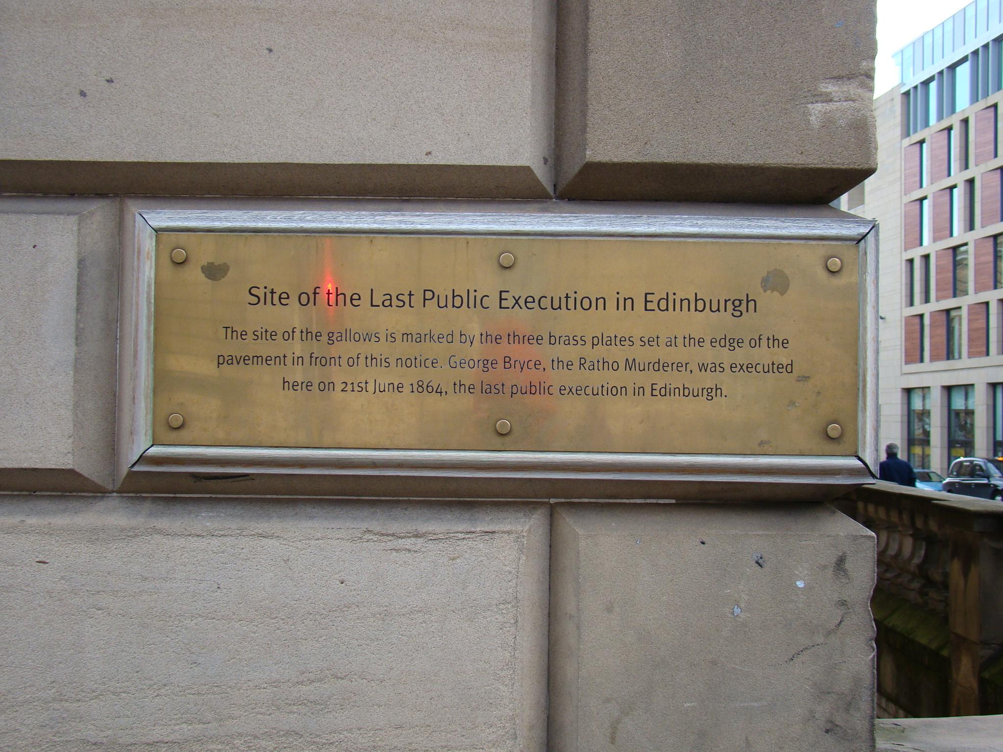 Última execução de Edimburgo