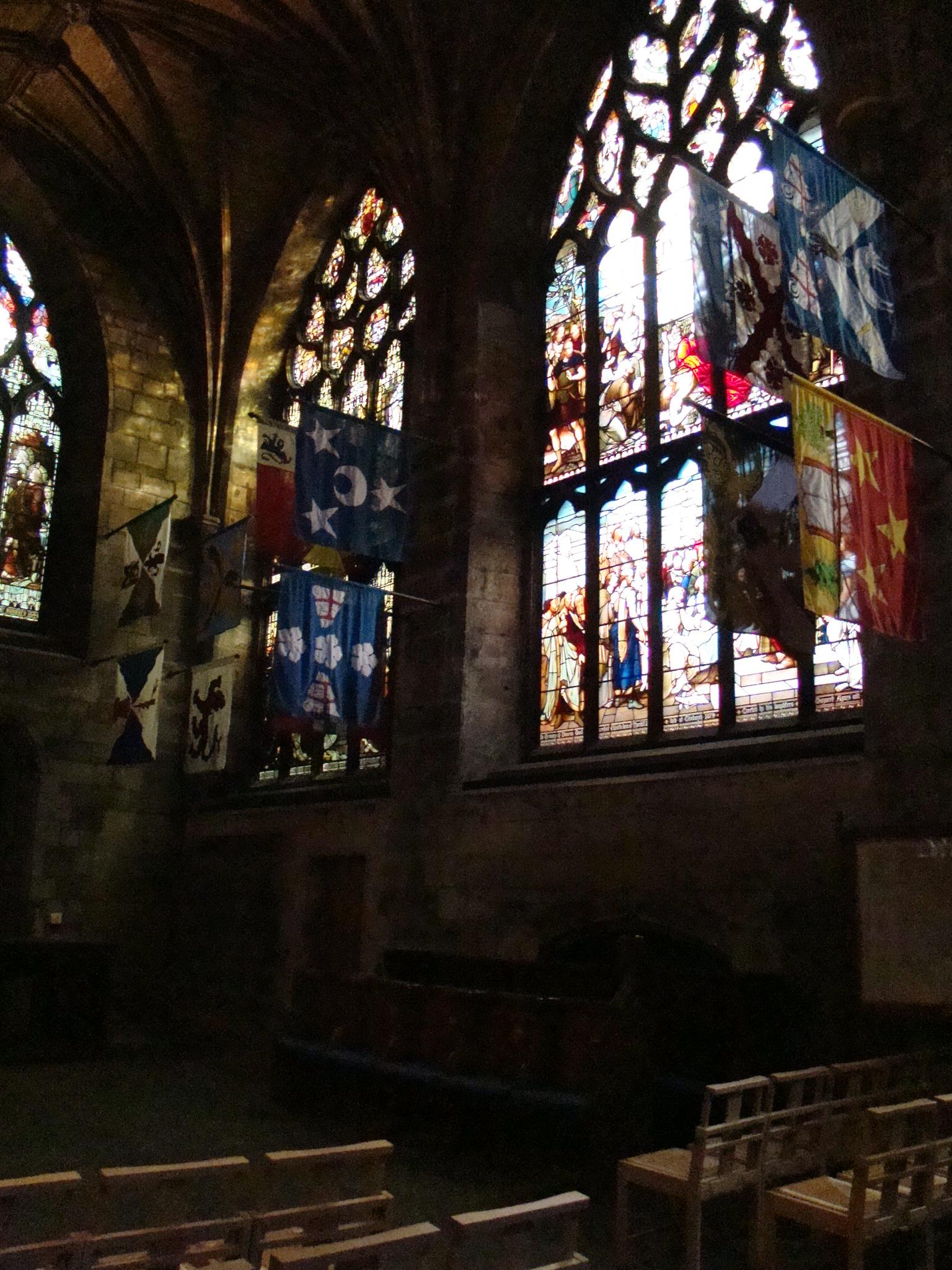Vitrais da catedral de St. Giles - Edimburgo