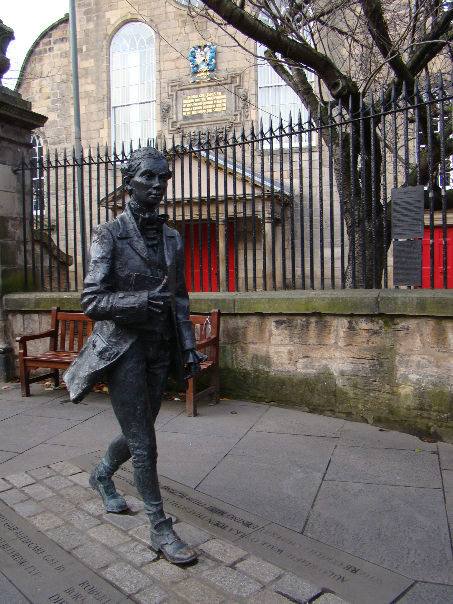 Robert Fergusson - Royal Mile