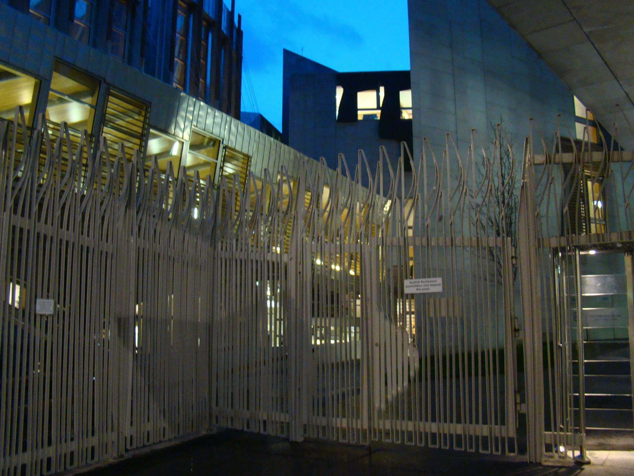 Royal Mile: Parlamento da escócia