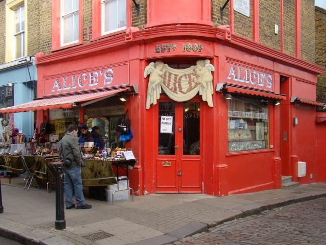 Mercado de Antiguidades - Notting Hill