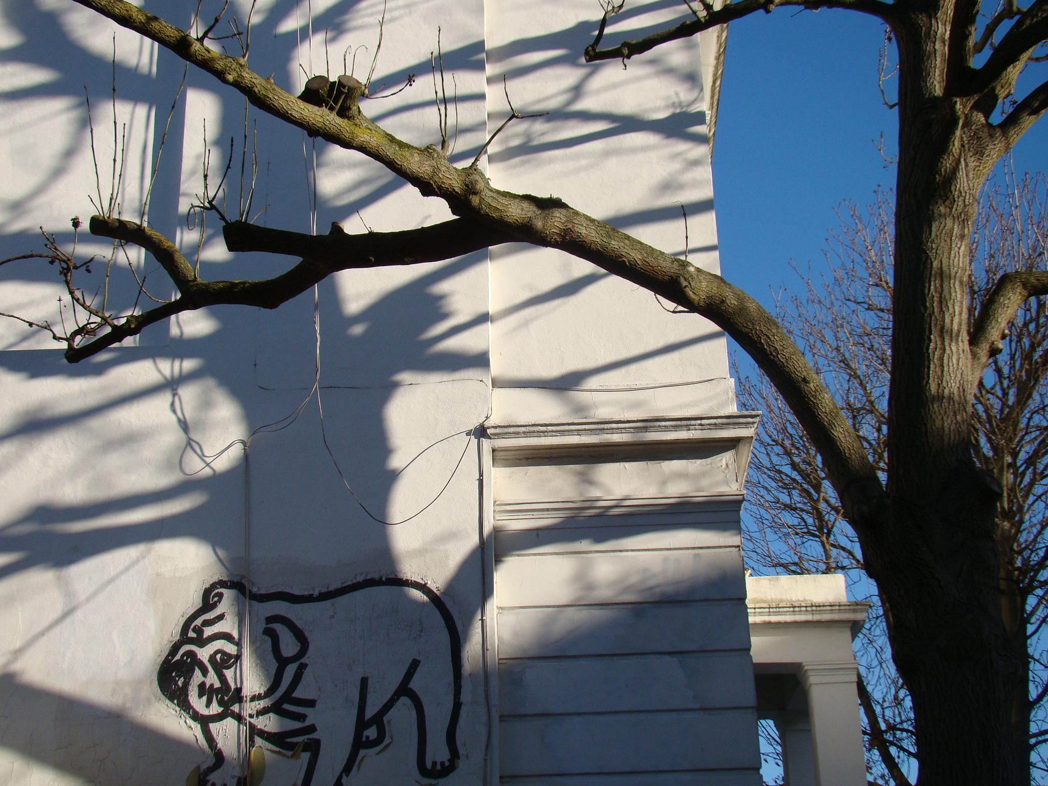 Grafite em Notting Hill - Londres
