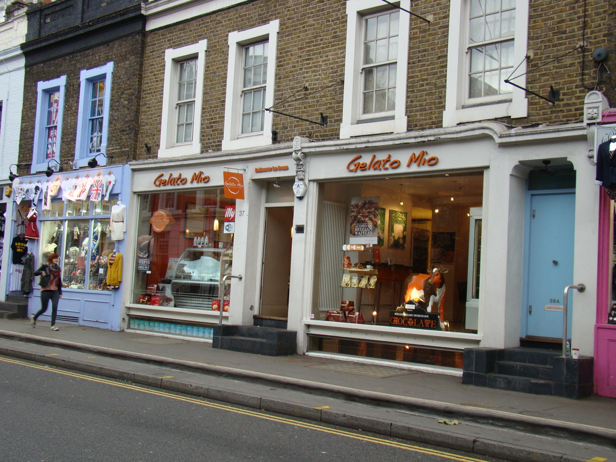Sorvete em  Notting Hill