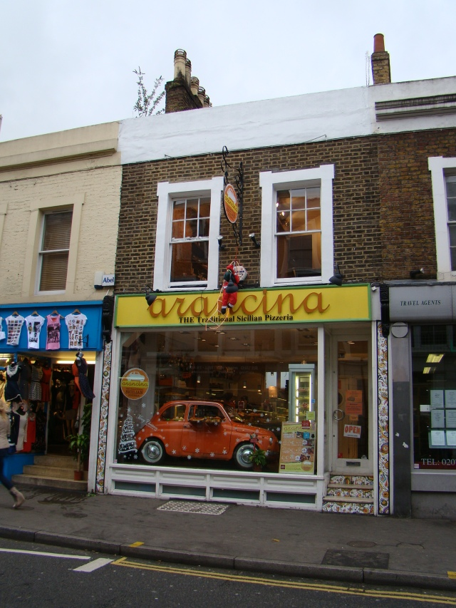 Pizzaria, Notting Hill
