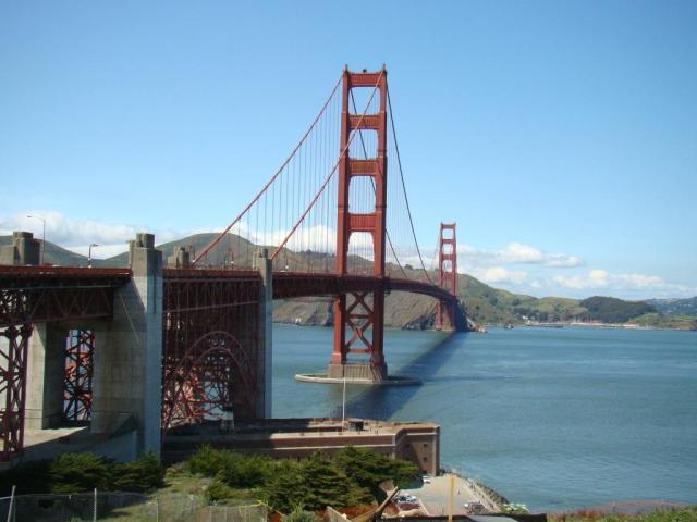 Golden Gate | MIrante panorâmico