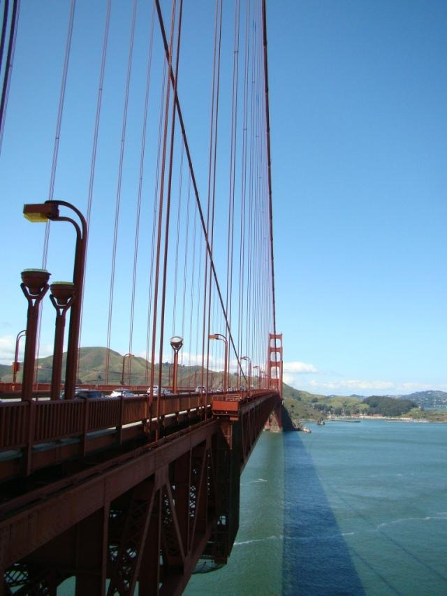 Do alto da Golden Gate