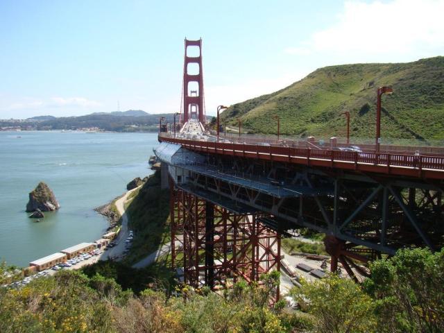 Mirante da Golden Gate em Sausalito